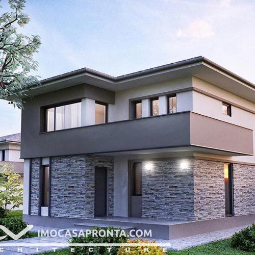 casas modulares - casas de madeira 1