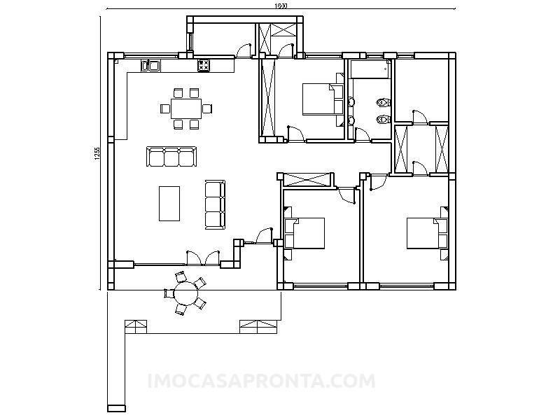 Mainz casas modulares t3 imocasapronta planta