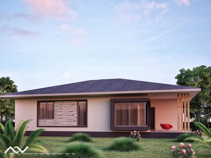 danlia T2+1 traseira casas de madeira