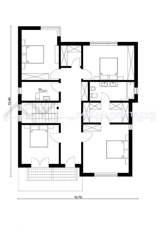 Cologne imocasapronta casas modulares t4 planta 2