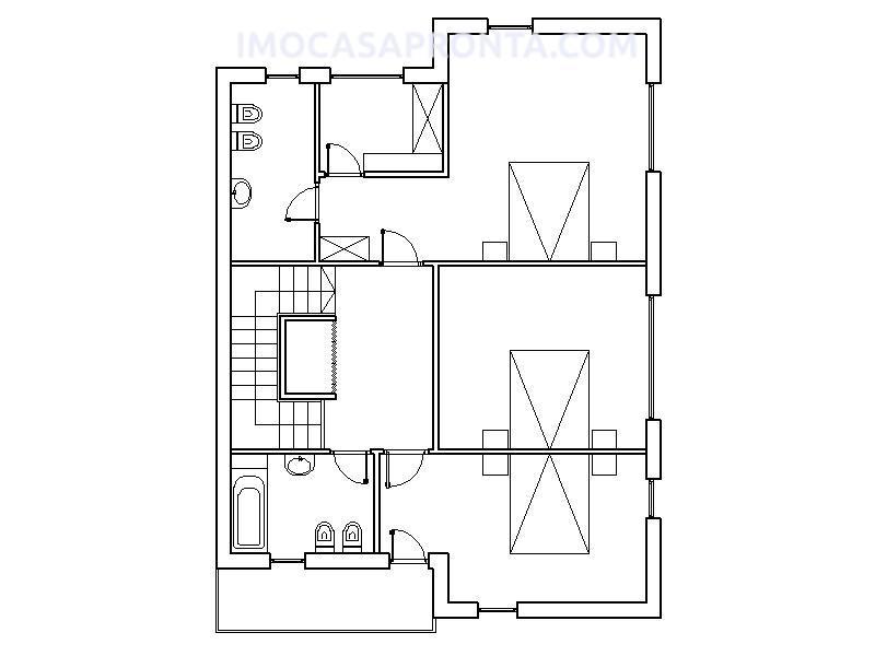 casas pre fabricadas seville T3 imocasapronta planta 2