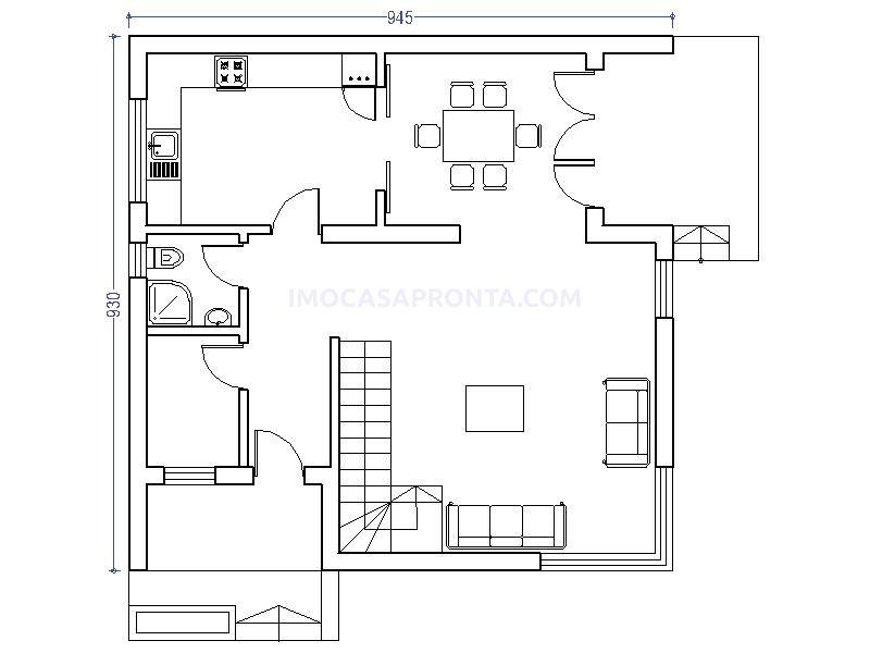 linz moradia t3 casas modulares imocasapronta planta