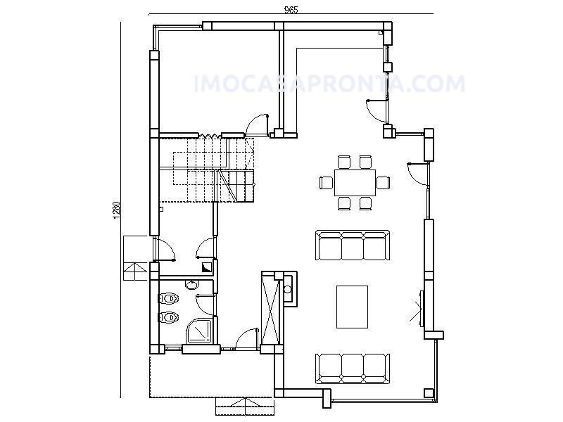 aquila moradia t3 casas modulares imocasapronta planta